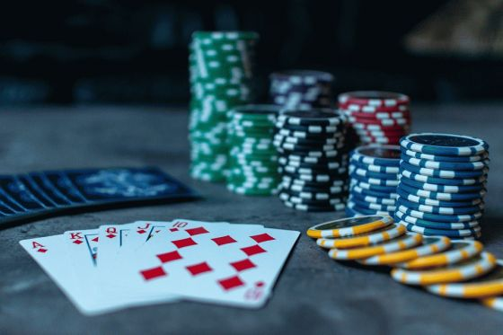 gambling player